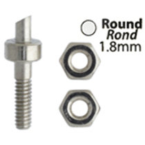 Metal Complex Replacement Pins 2 Sets Round 1.8mm
