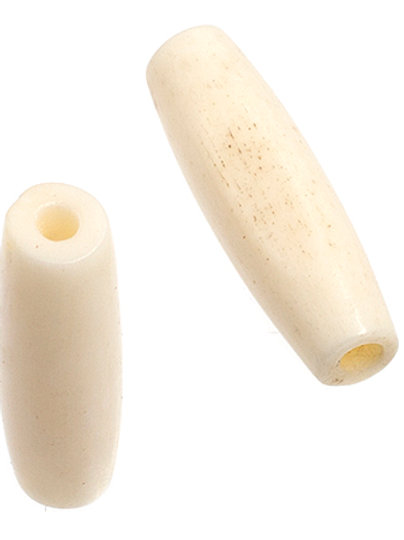 "BONE PIPE 0.75""(19mm) IVORY 100pcs"