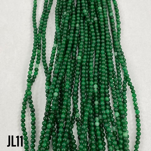 Dyed Jade Forest Green Colour 3mm