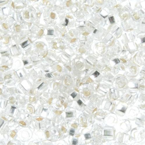 Czech Seed Beads 8/0 S/L CRYSTAL