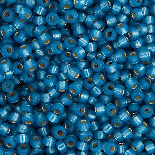 Miyuki Seed Beads 6/0 Denim Blue S/L Alabaster