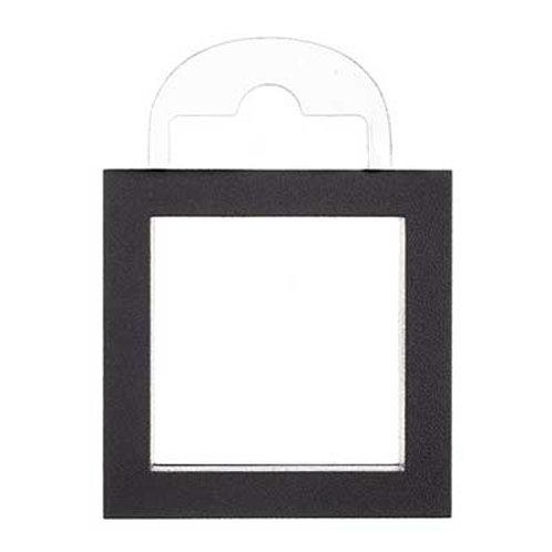 Jewelry Display Box Square 70x70x15mm Black