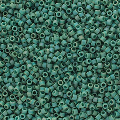 2313 DB 11/0 FRGL Green Mint Matte AB