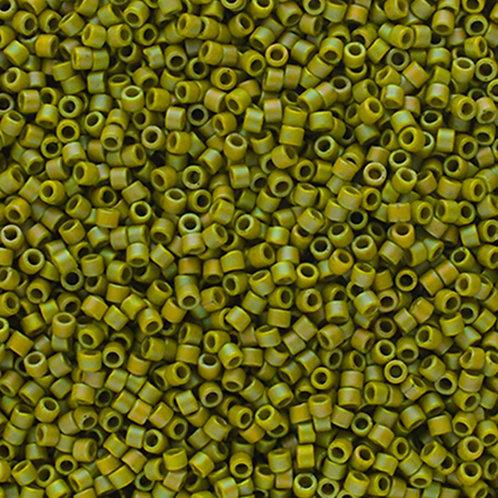 2309 DB 11/0 FRGL Green Lime Matte AB