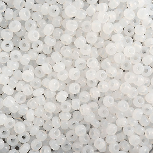 Czech Seed Beads  10/0 ALABASTER