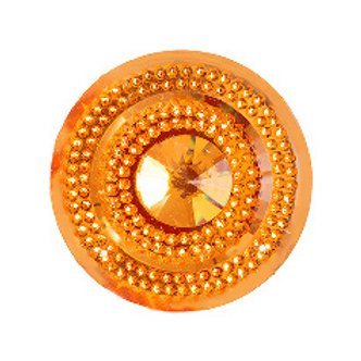 Glitz Sew-on Cabochon 45mm Gold
