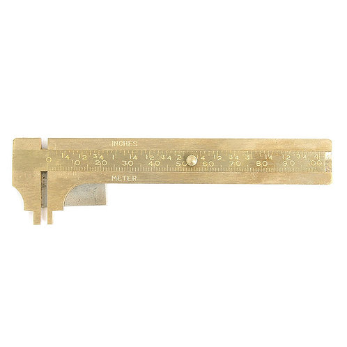 CALIPERS BRASS WITH PLATE