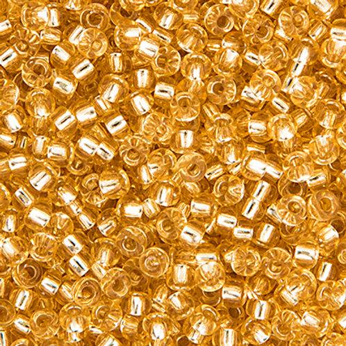 Miyuki Seed Beads 6/0 Lt. Gold S/L