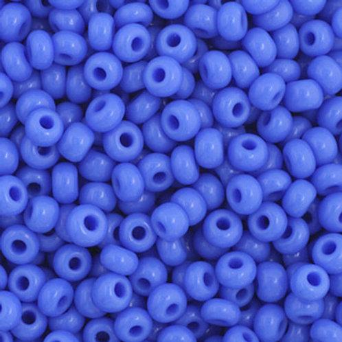 Czech Seed Beads  11/0 Blue OP.