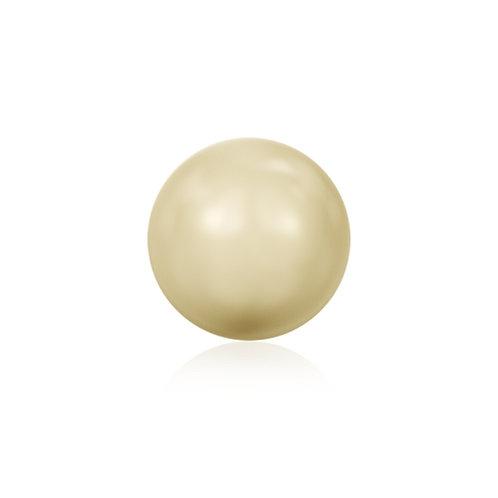 Swk Pearl 6mm Light Gold
