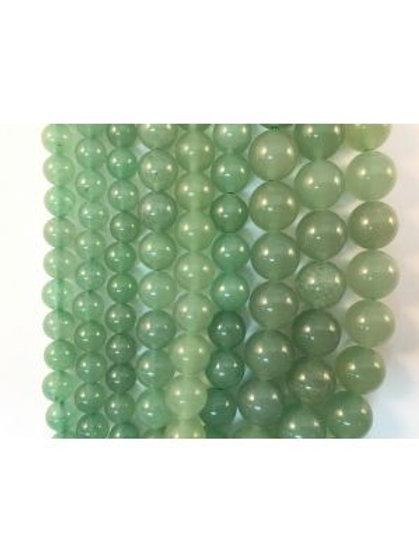 Natural Green Aventurine Beads 10mm
