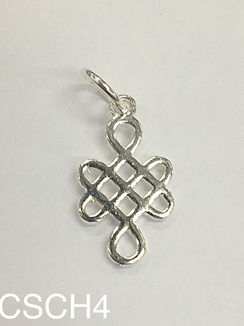 925 Celtic Knot With 5mm Ring