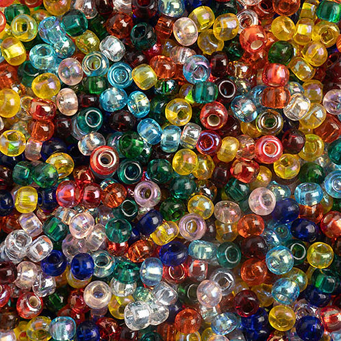 Czech Seed Beads 10/0 TR. MULTI