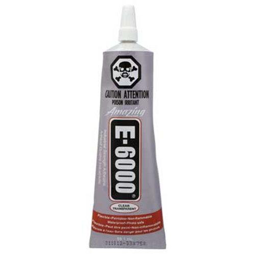 GLUE E-6000 CLEAR 2fl.oz(60ml) CARDED
