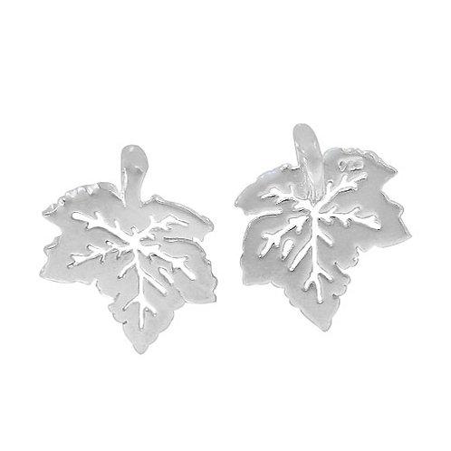 925 Maple Leaf Charm