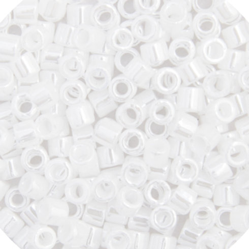 0201 DBL 8/0 RD White Pearl OP. Lus