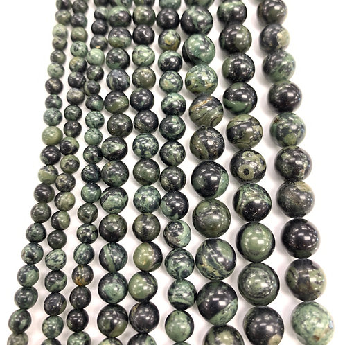 Natural Kambamba Stone Beads 4mm