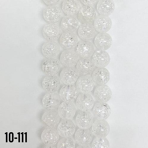 Natural Crackle Quartz Beads 10mm