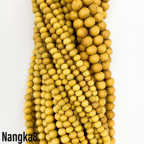Nangka Wood Beads 8mm