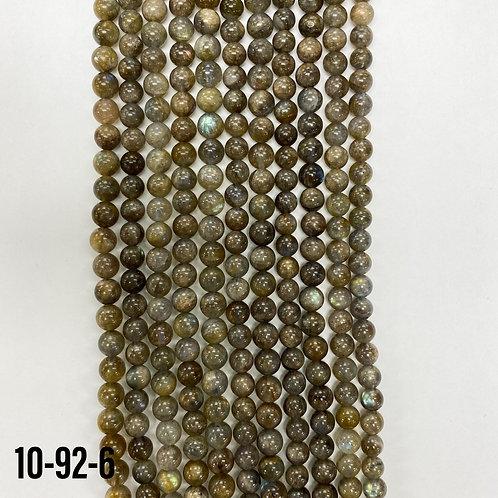 Natural Blue pearl Labradorite Beads 6mm