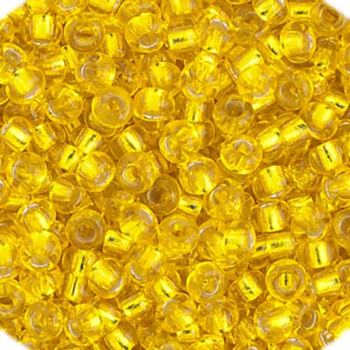 Czech Seed Beads  11/0 Yellow S/L