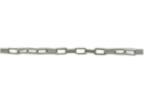 Rectangular Link Chain Sold By The Foot.