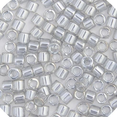 0114 DB 11/0 RD Silver Grey Gold Lus