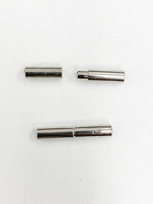 20mm Push-Screw Clasp (fits 1.5mm cord)