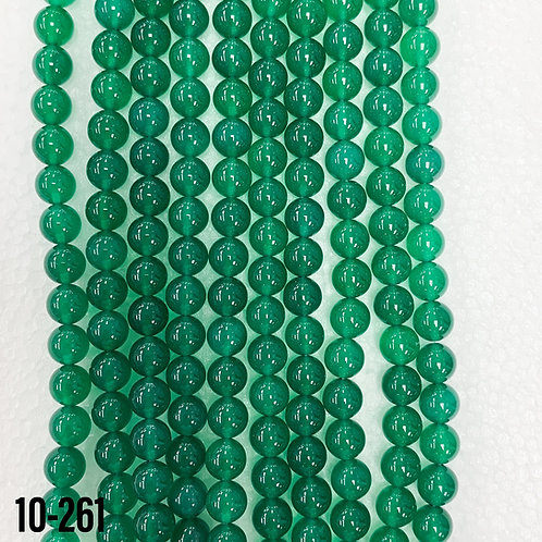 Heat Treated Green Onyx 6mm