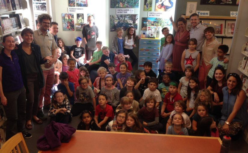 Portola Seed Library Opening
