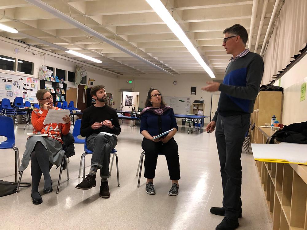 Values-based parenting workshop