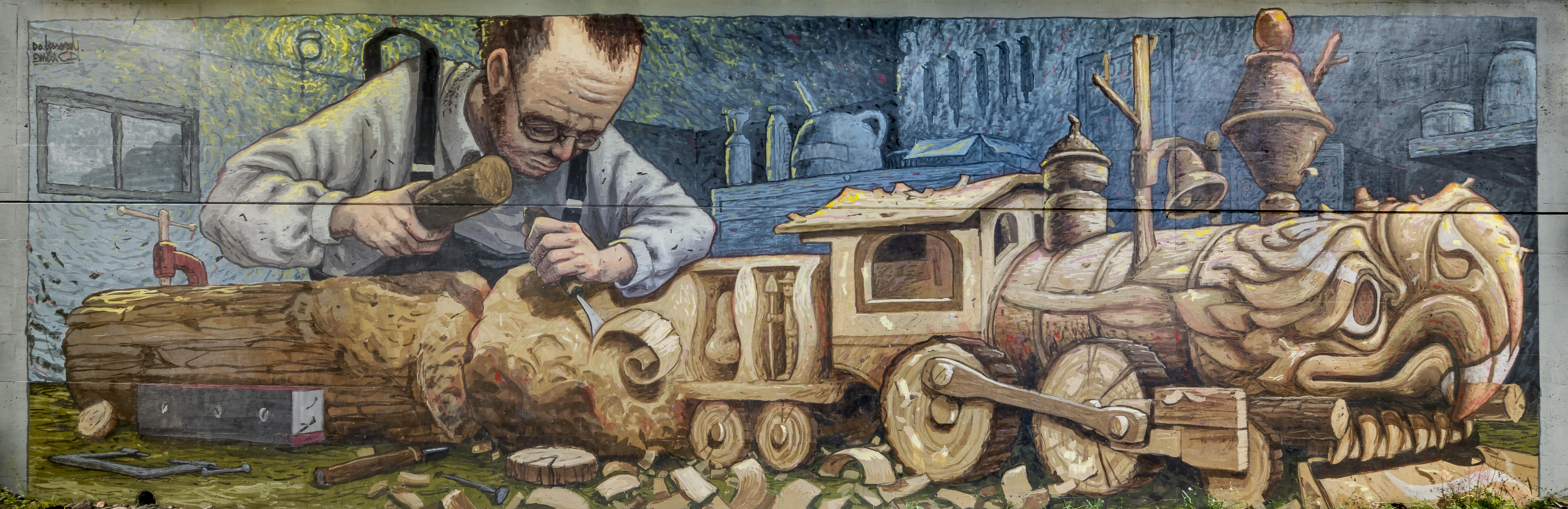 Sculpteur de bois
