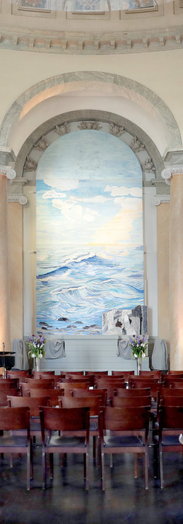 Begravning och minnesstund i vackra Eric Ericsonhallen