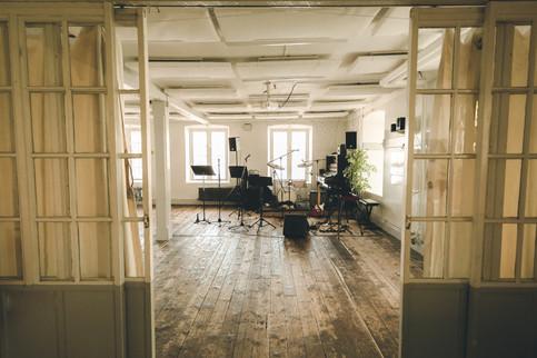 Tackelkammaren på plan 1 i Segelsalens festvåning på Skeppsholmen