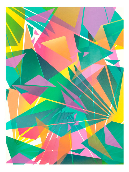 3. Geometric Print