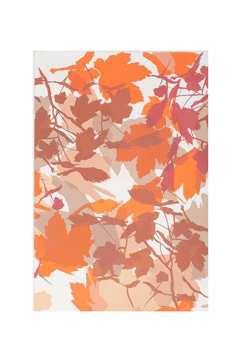 2. Neutrals and Orange 56x38cm