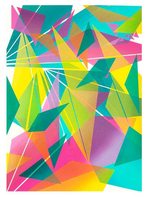 6. Geometric Print