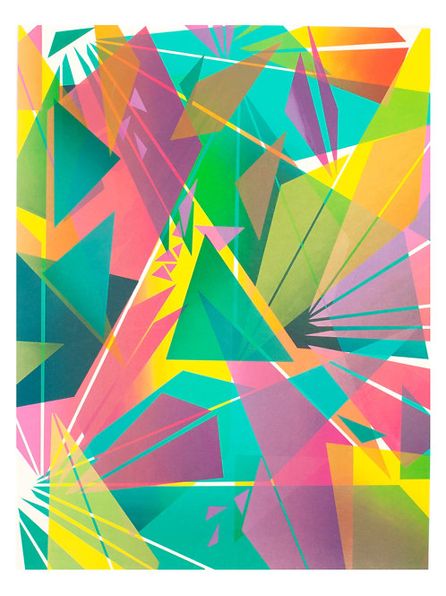 4. Geometric Print