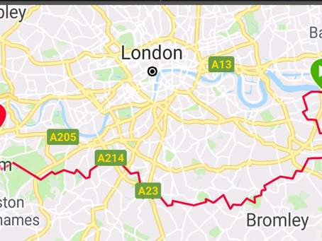 UltraLondon 55km - Challenge 5 of 50