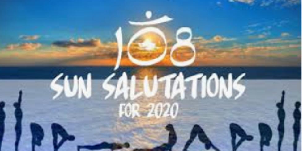 108 Sun Salutations, a challenge set by my yoga teacher!