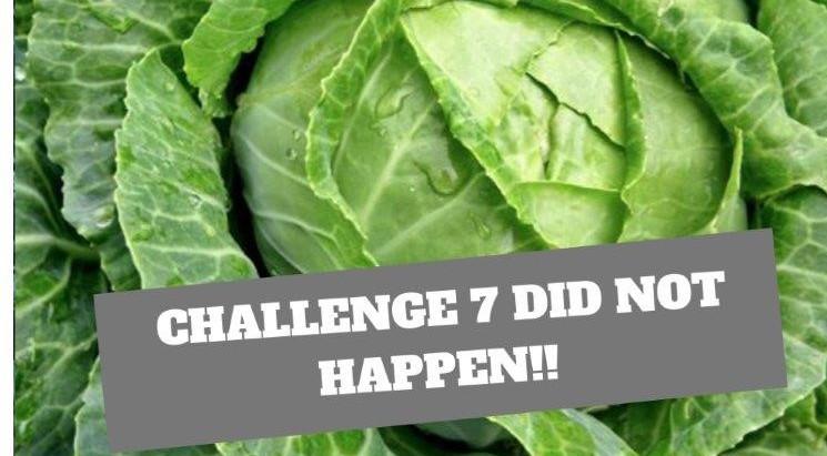 How challenge 7 didn't happen