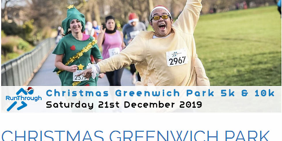 Greenwich Christmas Runthrough (10km)
