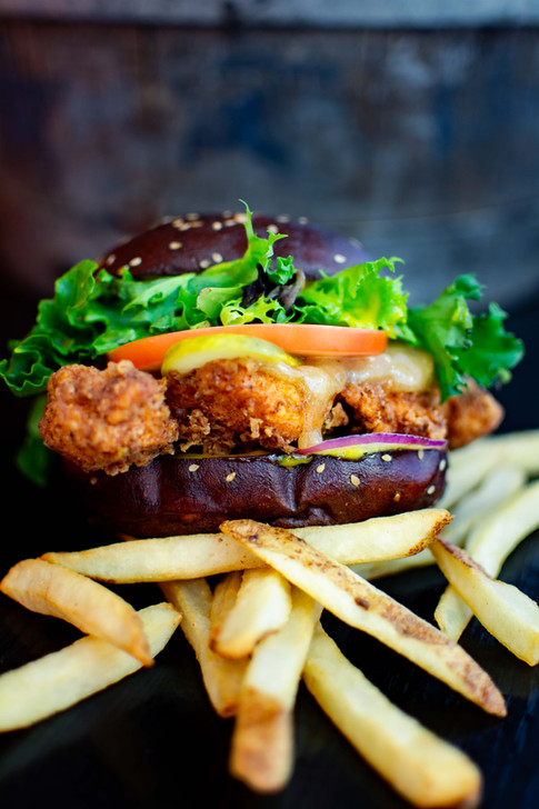 Bombay Burger Fries