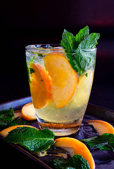 Peach Ginger Smash