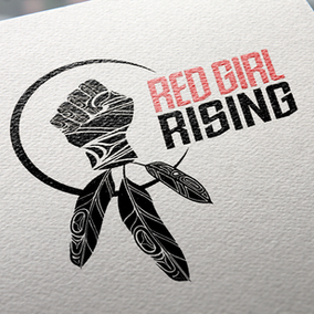 Red Girl Rising Final Logo