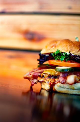 BBQ 2-Cheese Burger