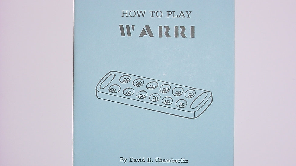 How To Play Warri