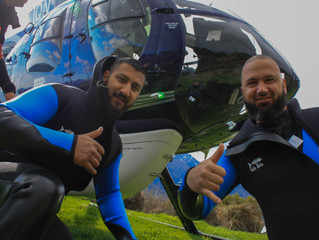 The first trip for Canyoning NZ, and it's a heli canyon trip, BOOM!