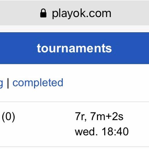 19th Online Practice Oware Tournament - Beginners
