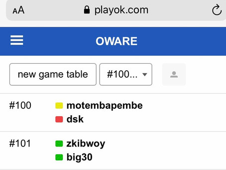Chronicles of players on the playok platform for the week beginning 9th November 2020 9th edition